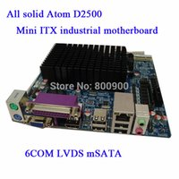 atom mini itx motherboard - All solid Atom D2500 Mini ITX industrial motherboard COM LVDS mSATA HDMI COM LPT