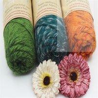 alpaca wool sweaters - High Quality Alpaca Wool Worsted Thick Yarn Wool Thread Yarn Hand Knitting Crochet for Sweater Knitwear Scarf g