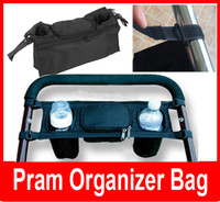 Wholesale Cup bag Baby Stroller Organizer Baby Carriage Pram By Cart carrinho de bebe Bottle Bags Drop