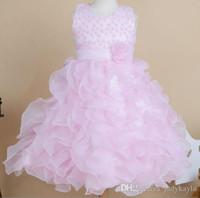 Cheap flower girl dress Best girl wedding dress