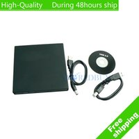 Wholesale High Quality USB Slim External Rewriteable DVD RW Drive DVD Burner EMS UPS DHL HKPAM CPAM