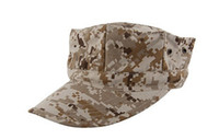 Wholesale Marines Octagonal Cap The US Military Camouflage Cap Hater Snapback Diamond Cap Military Sailor Captain Hats CEMA