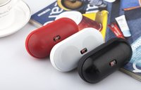 Wholesale Short high quality Pills Wireless mini blue tooth Speaker Portable Bluetooth Audio louds speakers For iPhone smart cell phone