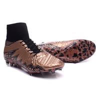 Wholesale Brand Design Laser Soccer Boots Men s Hypervenom Phantom II FG Sport Cleats Original Soccer Shoes M2