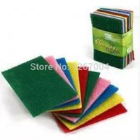 Wholesale 20set set Color scouring pad dish cloth cloth clean cloth to wipe cloth