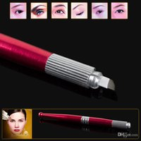 Wholesale New Arrival L13 Professional Handmade Permanent Makeup Tattoo Manual Pen Machine for Eyebrow