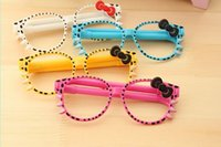 Wholesale Creative cartoon glasses pen