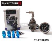 Wholesale Tansky Fuel Regulator With Black Gauge TOMEI High Quality Fuel Pressure Regulator TK FPR0519 Have in stock H Q