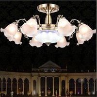 Wholesale European living room to absorb dome light Bedroom absorb dome light dining room lamp LED dome light colour light lamp The hotel lobby Guest