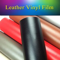 pvc leather car - 1 x1m x3 ft Removable vehicle vinyl wrap leather vinyl film roll sheet air bubble free for car body internal wrapping
