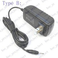 Wholesale Power Adapter V A mm mm Plug wall Charger US EU for inch Android Tablet PC MID