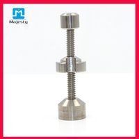 Wholesale Majesty MJB TFM8 mm Male Female Adjustable Titanium Nail Rig Titanium braided For Water Pipe Glass Bong Glass Pipe