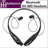 Wholesale hv wireless stereo headsets portable bluetooth headphones hbs neckband for LG Samsung iphone
