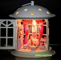 Wholesale Construction Toy DIY Metal House Of Starstory DIY Bedroom Room With Miniature Furniture Set Assembly House