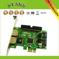 sata to ide adapter - New JMB363 Port PCI E SATA II RAID IDE quot to PCI Express Adapter Converter Card Dropshipping