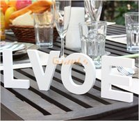 wood letters - Hot Wood Wooden Letters Bridal Craft Wedding Party Birthday Toys Home Decor