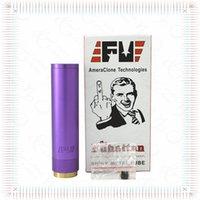 Fuhattan Mod Aluminum e Cigarette Machanical Mods Clone Etats-Unis Manhattan Mod Rouge Bleu Noir Fuhattan Mods