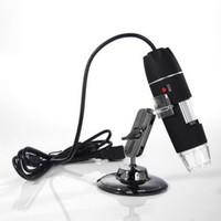 Wholesale Set LED USB X Microscope Endoscope Magnifier Digital Video Camera Microscopio USB Hot Worldwide