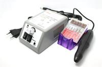 venda por atacado nail art machine-2016 prego novo equipamento da arte do prego Professional Ferramentas Manicure máquina de polir prego Broca Arquivo Acrílicos Kit Presente