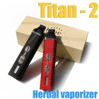 vapor pen - Titan dry herb vaporizer HEBE Kit mAh LCD Display vs titan II g pro pinnacle vaporblunt dry herb atomizer herbal vaporizer pen vapor