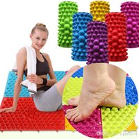 acupressure products - Foot Massage Pad Yoga Mat Acupressure Blanket Shiatsu Sheet Fingerboard Family Massage Appliances Body Relation Cushion Health Care Products