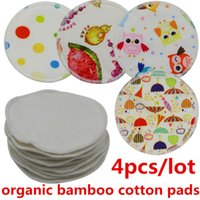 nursing breast pad - Beilesen cm diameter Organic Bamboo cotton Material Washable Sanitary Breast Pads Cloth Nursing pad for Mum