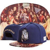 Wholesale Fashion hip hop cayler sons snapback cap rap and rock snapbacks baseball football hat caps weezy boy pray hats