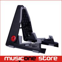 Wholesale AROMA Ukulele Violin Mandolin Stand Shelf AUS Freely Adjust the Angle and Size Black MU0231