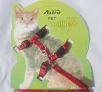 Wholesale 200pcs Cat Harness Lead Leash Traction Rope Dog Rope for Pet color