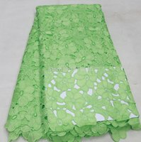 Wholesale Sewing trim High quality guipure lace fabric for sewing Polyester and cotton african wedding lace fabric AMY054C F