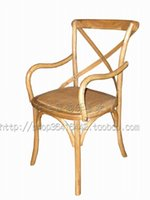 Wholesale American oak wood bar stool green home jewelry Villa Clubhouse Bar Furniture Crafts Chair