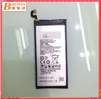 Wholesale Batteries For Samsung Galaxy S6 Cell Phone Internal battery Model EB BG920ABE mAh Secondary Lithium Ion Batterie pack