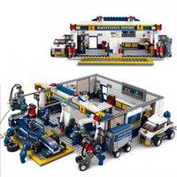 Wholesale Toy building blocks Sluban F1 Racing Car Educational DIY Bricks Toys Brinquedo Educativo Juguetes Birthday Gife Model toys