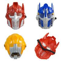 Wholesale 10PCS masquerade mask Transformers cartoon Optimus Prime Bumblebee