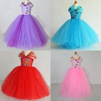 Wholesale In Stock Cinderella Inspired Pageant Dresses for Girls Hot Sale Sequins Tulle Girl Tutu Dresses with Butterfly