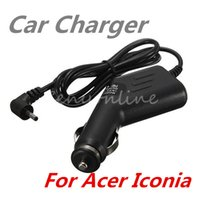 acer power lead - NEW Black V A LED Car Auto Battery Power Charger Plug Adapter For Acer Iconia Tab A500 A501 A200 A100 A101 Tablet PC Laptop