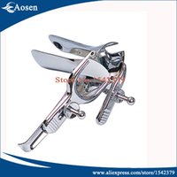 speculum - Medical Stainless Steel Colpectasia Device Vaginal Speculum OB GYN Instruments Genitals Sexy Peep Mirror