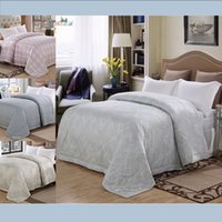 Wholesale New arrival colors Cotton quilts and blankets of bed for summer reactive printed bed linen luxury bedding quilts comforters