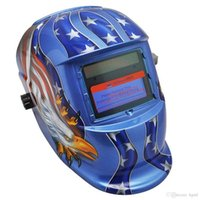 Wholesale Auto Darkening Solar Eagle Welding Protective Helmet Mask with Grinding Function Ideal for ARC MIG TIG Stick Welding PIT_105