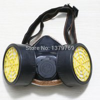 chemical respirator mask - New Respirator Gas Mask Air Pollution Protect Dust Mask Isolation