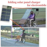 Wholesale 120W folding monile solar battery charger for car charging outdoor
