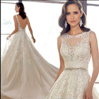 Wholesale New arrival hot sale fashion special elegant sweet luxury perspective lace diamond fishtail trailing custom elegant wedding dress