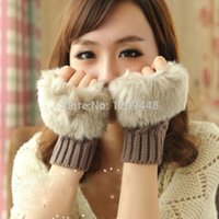 Wholesale 2014 sale top fashion wrist female winter gloves autumn mittens fingerless gloves women and best quality