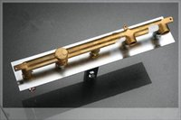 Wholesale Luxurious Design Brass Construction Chrome Finished Wall Deck Mounted Bathtub Faucet pop square