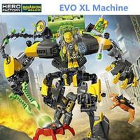 attack building - KSZ EVO XL Machine Hero Factory Brain Attack Action Figures Building Blocks INVASION FROM BELOW bricks toys