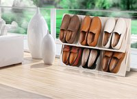 Wholesale New Shoes Closet Organizer Creative combination can be freely combined plastic shoe rack colors