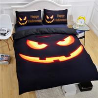 brand bedding sets - Brand New Pumpkin Party Comforters Black Halloween Bedding Set Vivid D Print Sheet Set Or Twin Queen King