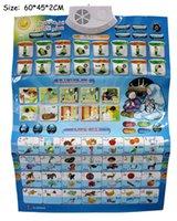 koran - English Arabic language Phonic Wall Hanging Chart Learning Education Koran Muslim toy best gift for kids with packing box