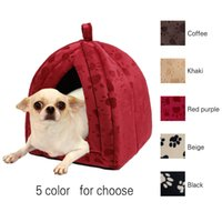 Wholesale Dog Pet Bed House Soft Dog Kennel Lovely Soft Pet Products Pet House Cute Animal House