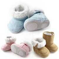 Wholesale child boots - Hot Sales Baby Kids Infants Toddler Children Warm Winter Snow Shoes Boots Months ax36